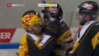 Video «Lugano und die Lions mit dem Playoff-Vorgeschmack» abspielen