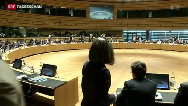 Video «EU droht Russland mit zusätzlichen Sanktionen» abspielen