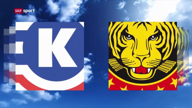 Eishockey: Kloten - SCL Tigers («sportaktuell»)