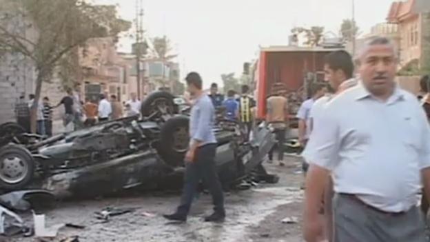 Video «Anschläge im Irak (unkomm.)» abspielen