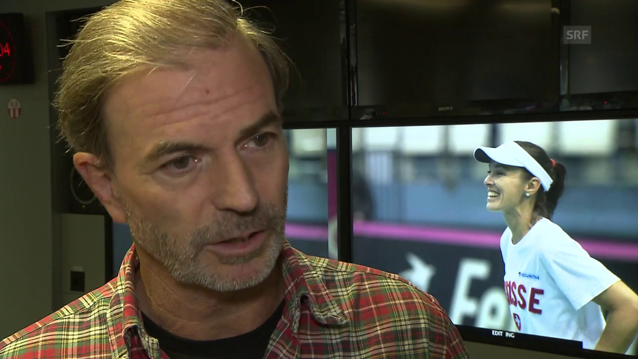 Günthardt: «Martina ist ein wichtiger Bestandteil des Teams»