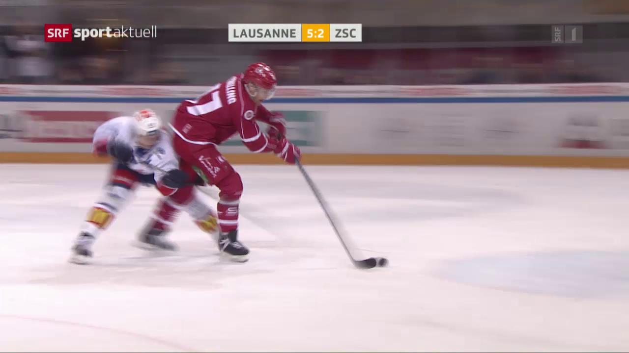 Lausanne setzt Siegesserie gegen die Lions fort