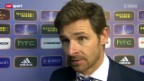 Video «Fussball: Interview mit André Villas-Boas» abspielen