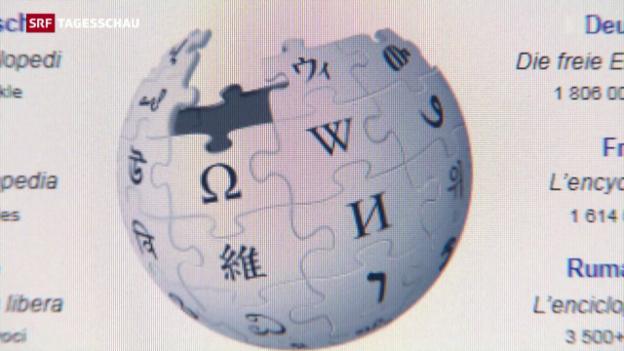 Video «15 Jahre Wikipedia» abspielen