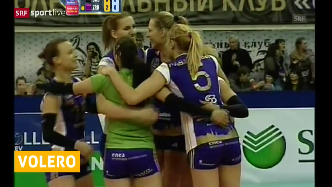 Volleyball: CL, Omsk - Volero