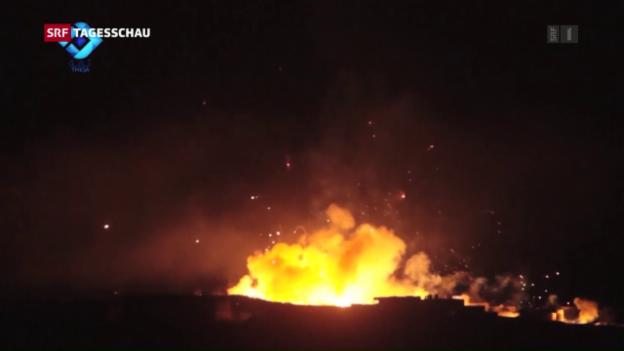 Video «Syrische Armee startet neue Offensive» abspielen