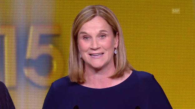 Video «Jill Ellis ist die Trainerin des Jahres 2015» abspielen