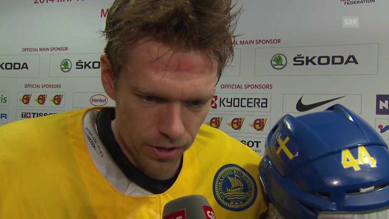 Eishockey: Interview mit Nicklas Danielsson