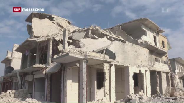 Video «Die Rückeroberung Aleppos» abspielen