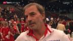 Video «Die Stimmen zum Halbfinal-Einzug im Fed Cup» abspielen