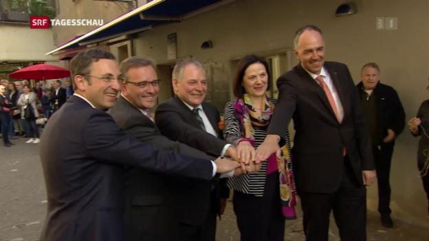 Video «Walliser Staatsrat ohne Freysinger» abspielen