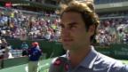 Video «Tennis: Indian Wells, Federer - Dolgopolow» abspielen