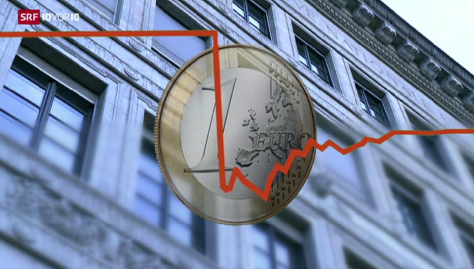 Der Euro erholt sich