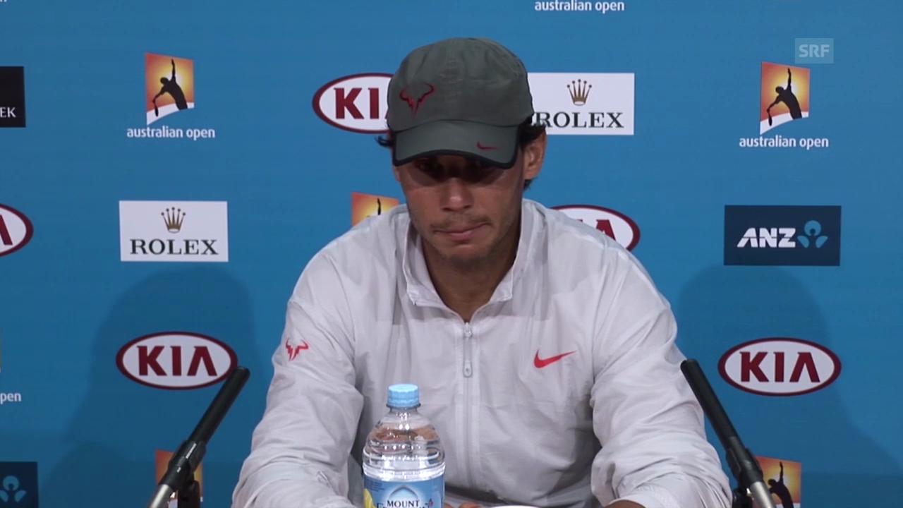 Tennis: Australian Open, Auszug Medienkonferenz Nadal (26.1.2014)