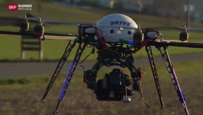 Video «Der Bund will Vorschriften für Drohnen verschärfen» abspielen