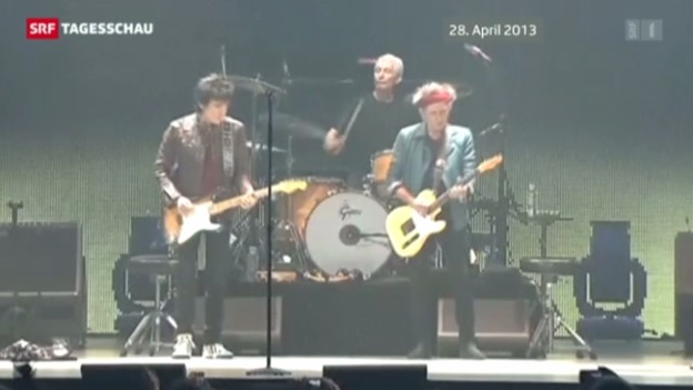 Video «Tournee-Start der «Rolling Stones»» abspielen