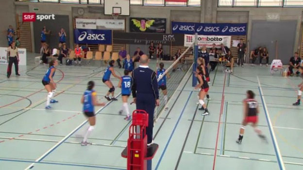 Video «Knappe Schweizer Niederlage gegen Aserbaidschan («sportaktuell»)» abspielen