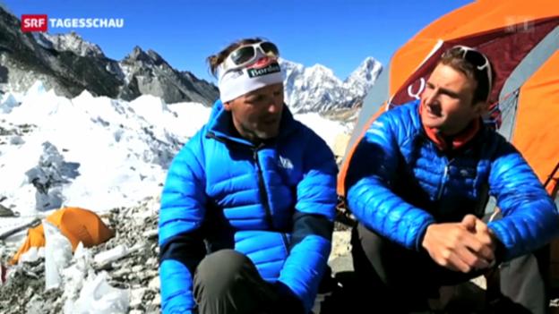 Video «Einigung zwischen Steck und Sherpas» abspielen