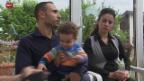 Video «Familie nimmt Flüchtlinge auf» abspielen