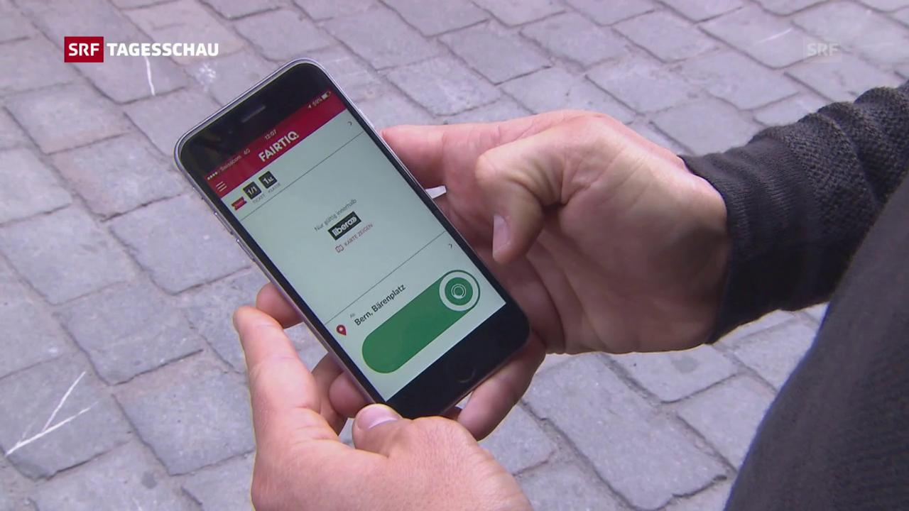 Neue Ticket-App