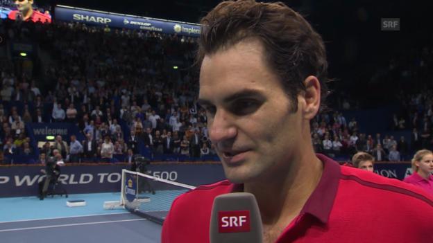 Video «Federer im Platzinterview» abspielen