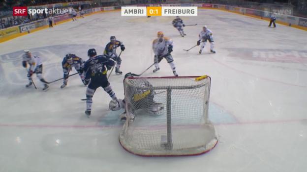 Video «Eishockey: NLA, Ambri - Freiburg» abspielen