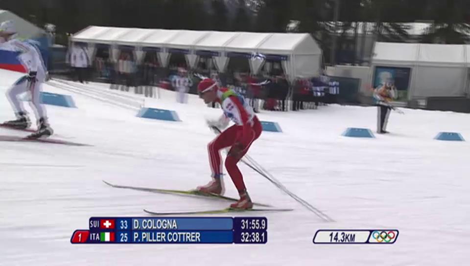 Langlauf: Dario Cologna, der Mann für Gold über 15 km