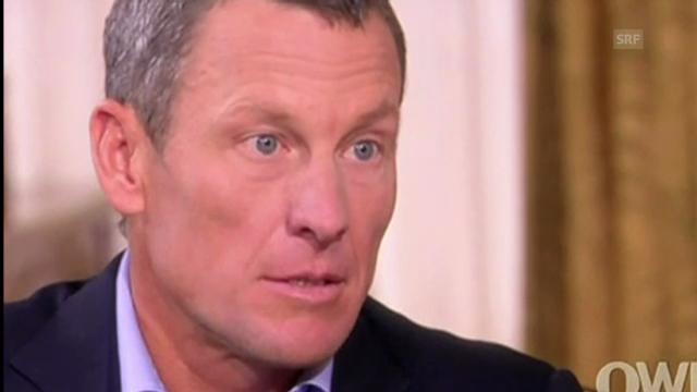 Das Armstrong-Geständnis, 2. Teil (Quelle: SNTV)