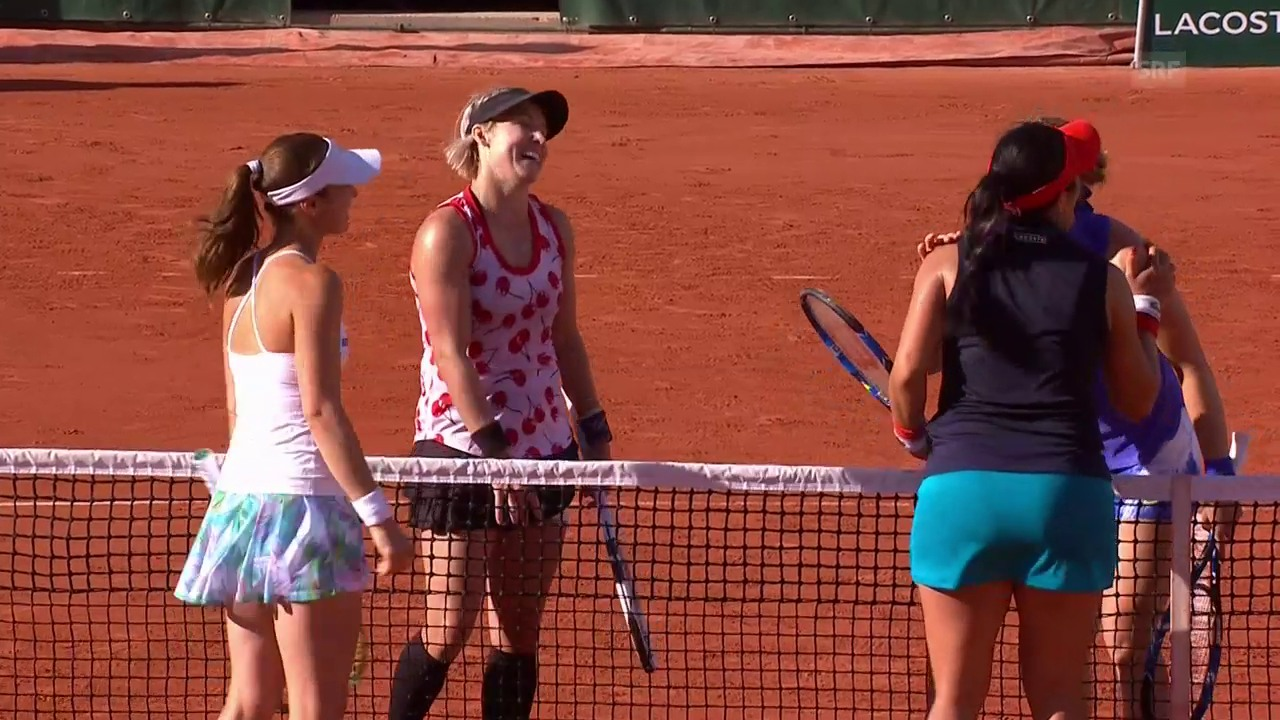 Hingis/Chan verpassen Final in Paris