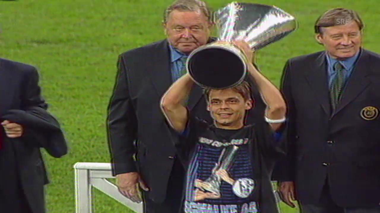 Schalke triumphiert im UEFA-Cup