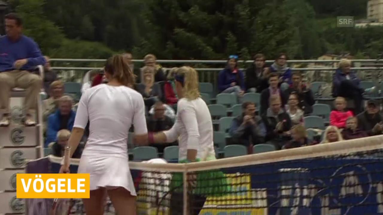 Tennis: Vögele scheitert in Bad Gastein im Viertelfinal