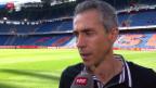 Video «Fussball: Stimmen zum Basler Triumph» abspielen