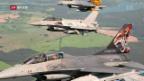 Video «Schweizer Jets üben mit der NATO» abspielen