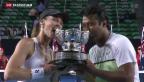 Video «Hingis gewinnt Mixed-Titel an den Australian Open» abspielen