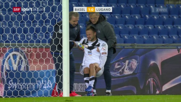 Video «Das 1:0 – Elyounoussi trifft, Jozinovic verletzt sich» abspielen