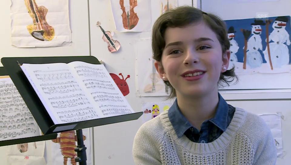 Newcomerin Audrey Haenni: Ein Geigentalent