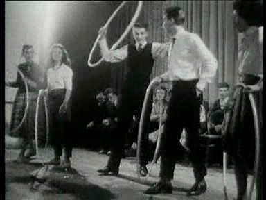 Hula-Hoop-Fieber («Wochenschau» vom 30.11.1958)