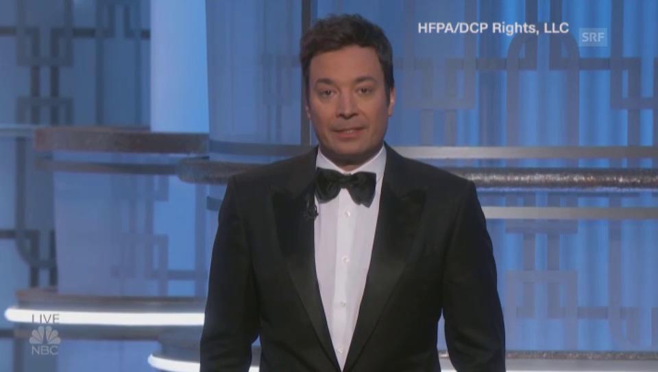 Golden-Globes-Moderator Fallon erinnert an Carrie Fisher und Debbie Reynolds (unkomm.))