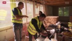 Video «Bessere Kommunikation gegen Schwarzarbeit» abspielen