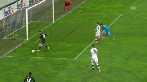 Video «Live-Highlights: Lugano - Viktoria Pilsen» abspielen
