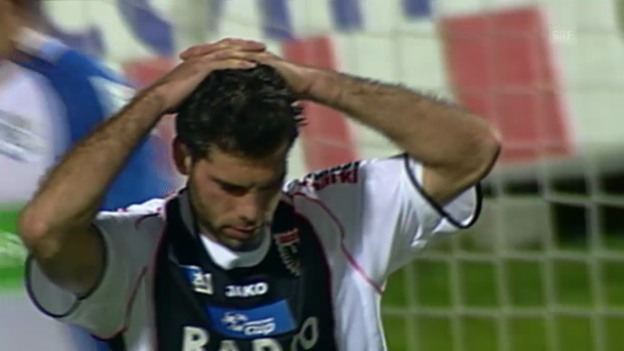 Video «Fussball: Halbfinal 2005: Luzern bezwingt Aarau 2:1» abspielen