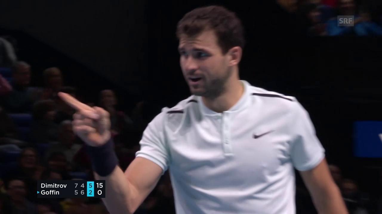 Wunderbar gemacht: Dimitrovs Winner