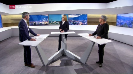 Laschar ir video «Na a l'abandun da l'energia nucleara: Discussiun da resultats e consequenzas»