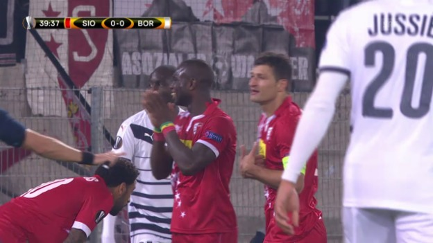 Video «Fussball: Europa League, Sion - Bordeaux» abspielen