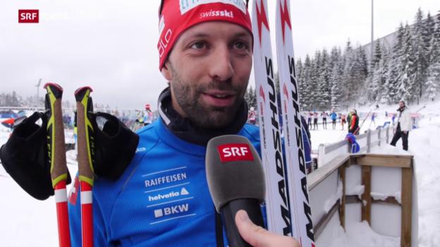 Video «Serafin Wiestner und Lena Häcki überzeugen an Biathlon-WM» abspielen