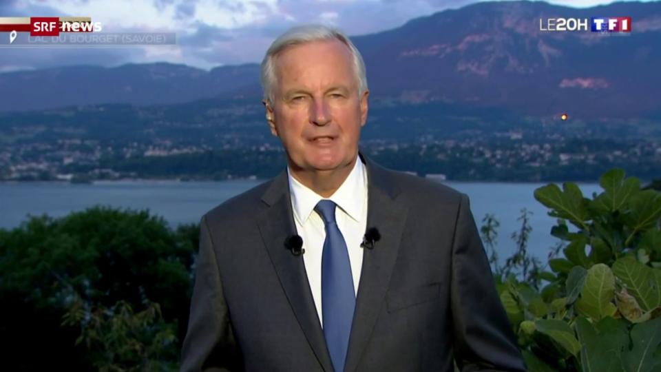 Archiv: Michel Barnier kandidiert für Präsidentschaftsamt