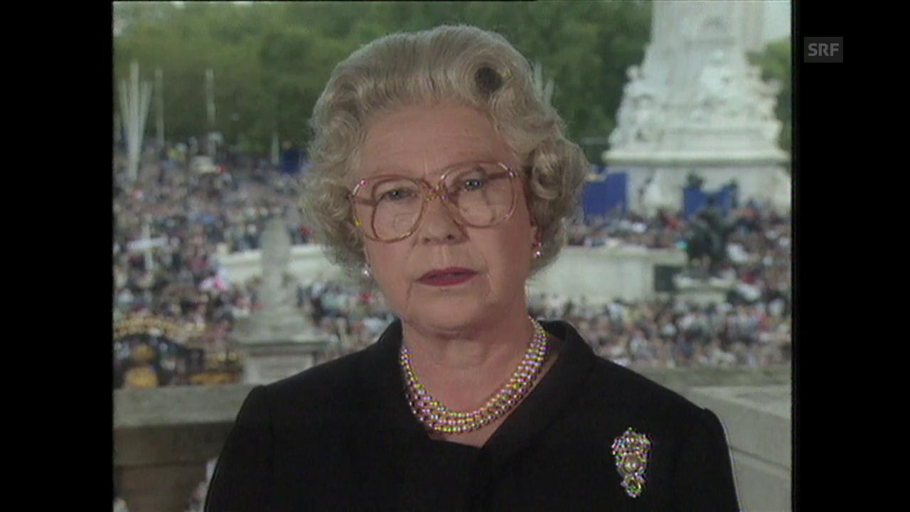 Dianas Tod stürzt Königshaus in Krise («10vor10», 1997)