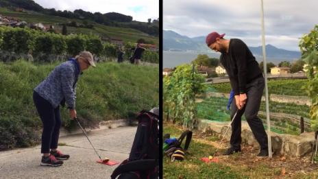 Video ««Ready, Steady, Golf!»: Da ist Musik drin: Golfen im 3/4-Takt!» abspielen