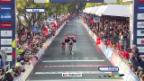 Video «Rad: Schlussphase im WM-Strassenrennen («sportlive»)» abspielen