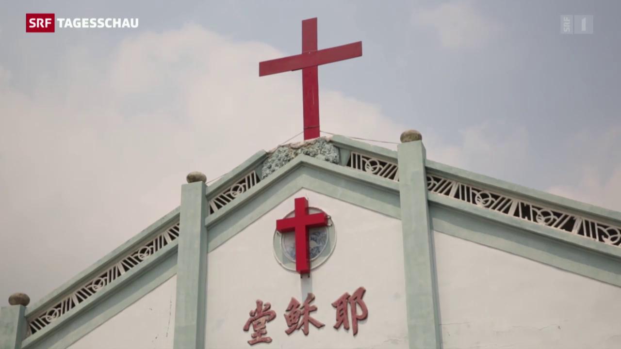China fürchtet sich vor Christen